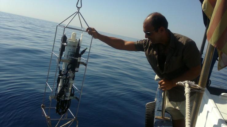 Mostreig per obtenir dades oceanogràfiques