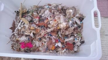 Part de les restes recollides abans de classificar-les
