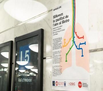 cartel de metro